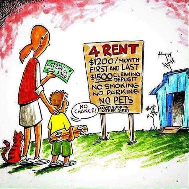 Rent Isn't Affordable. Financial Barriers For Low Income