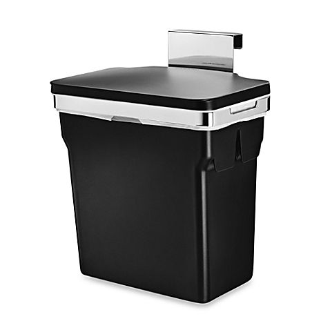 Simplehuman 10 Liter In Cabinet Can Kitchen Trash Cans Simplehuman Kitchen Waste Bin