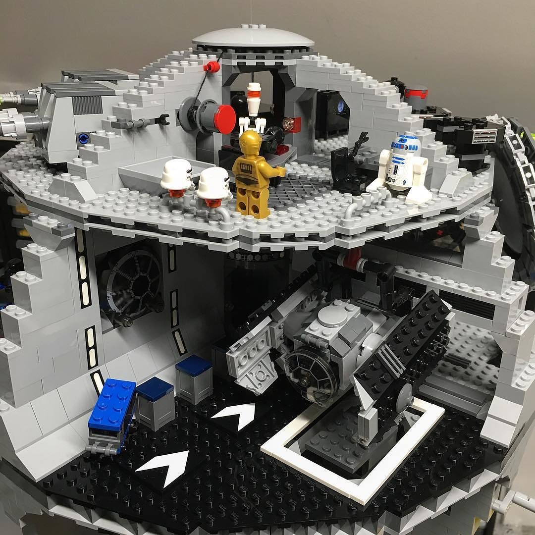 ...and the top of the hung Death Star. by rubrick
