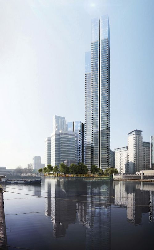 Foster + Partners - South Quay Plaza, Canary Wharf, London