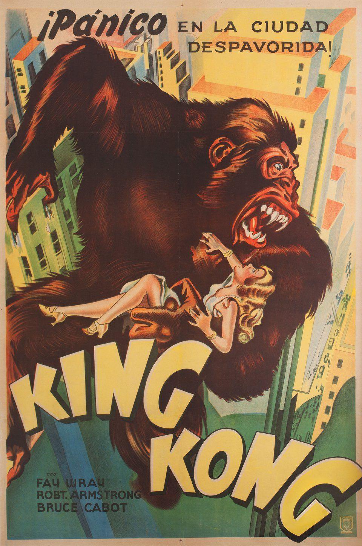 King Kong 1933 Argentine Poster Posteritati Movie Poster Gallery New York In 2020 King Kong 1933 King Kong Movie Posters Vintage