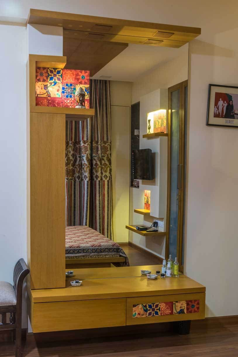 904 Hiranandani Estate Thane Istudio Architecture Wardrobe
