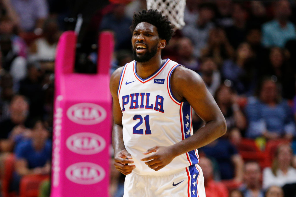 Philadelphia 76ers Big Man Joel Embiid Is Developing Into A True Nba Superstar Soon He Ll Have The Signature Sneakers To Prove In 2020 76ers Big Men Hakeem Olajuwon