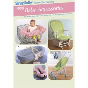 Simplicity Pattern 4636 Baby Accessories
