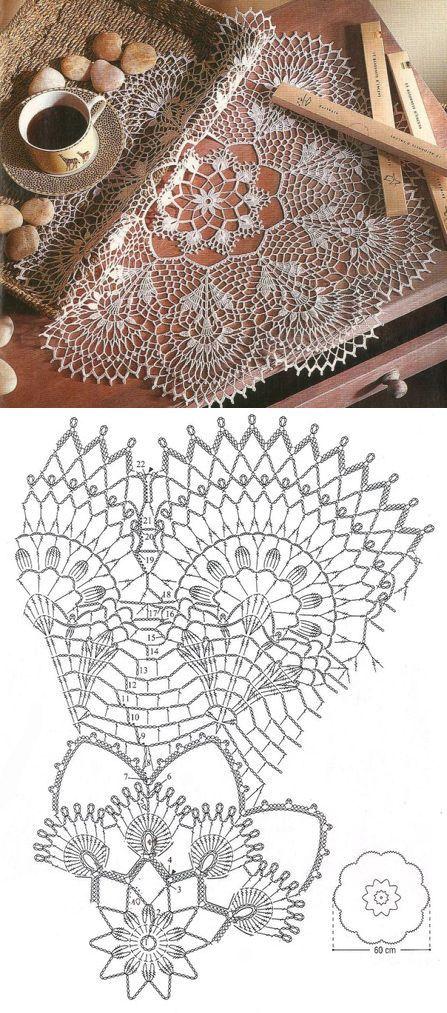 Napkins | Crochet Doilies | Pinterest