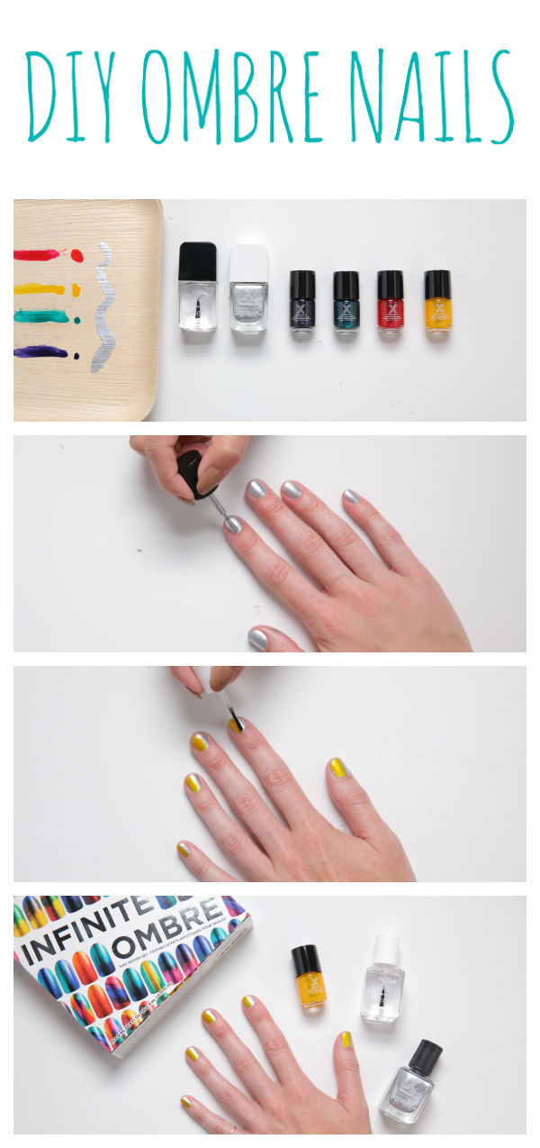 DIY ombré nail art made easy with the Formula X Infinite Ombré Nail ...