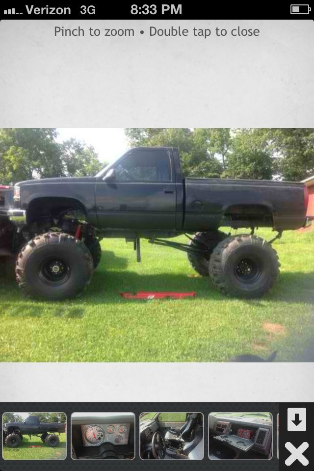 1992 Chevy short box 1 tons 538 gears locker in rear. Frame plated ...