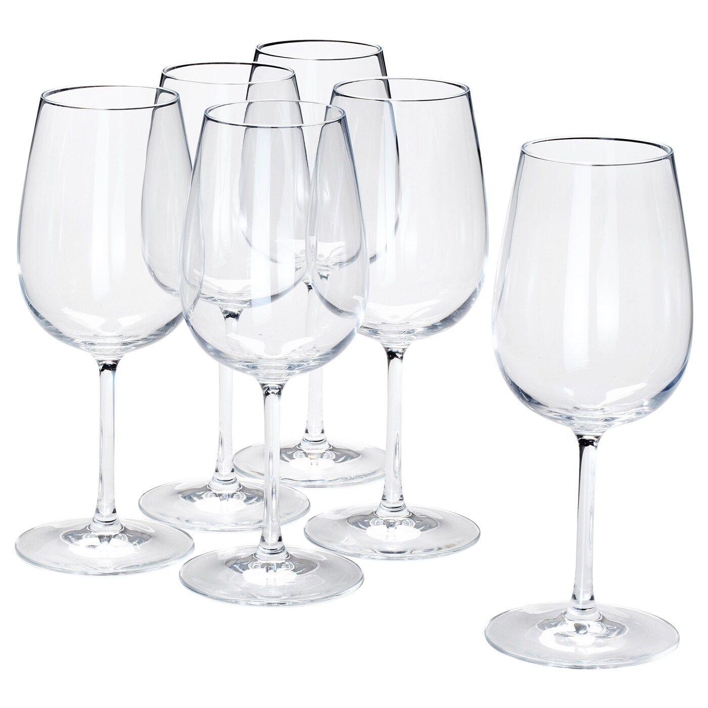 Storsint Wine Glass Clear Glass Ikea In 2020 Ikea Wine Glasses Clear Glass Wine Glass