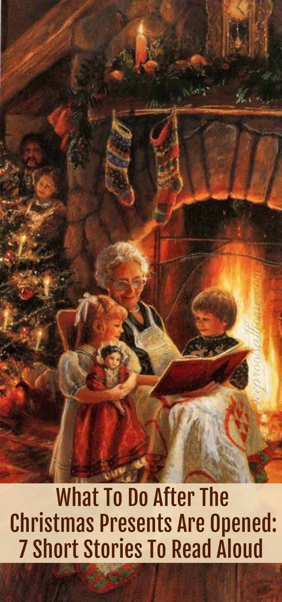 Short Inspirational Christmas Stories.What To Do After Christmas Presents Are Opened 7 Short Read