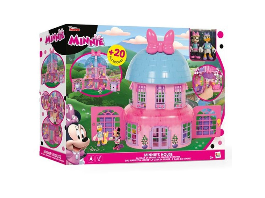 Minnie Mouse Happy Helpers House | Toy house, Minnie mouse ...