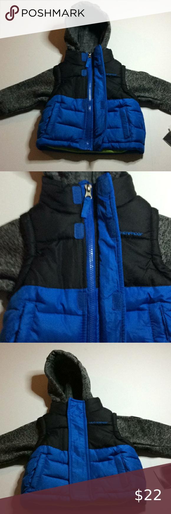 Nwt Weatherproof 12m Royal Blue Black Jacket In 2021 Girls Puffer Coat Girls Winter Coats Toddler Winter Jackets [ 1740 x 580 Pixel ]