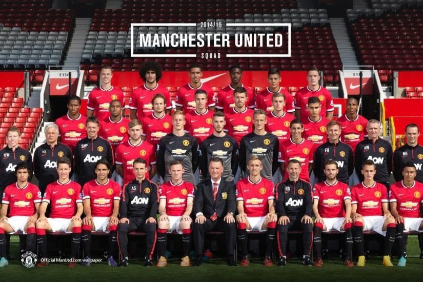 Manchester United 2014 2015 Squad Photo Wallpaper Wallpaper 1920x1080 Iphone Wallpaper Kate Spade Iphone Wallpaper Glitter Iphone Wallpaper Fall Manchester united wallpaper hd 1920x1080