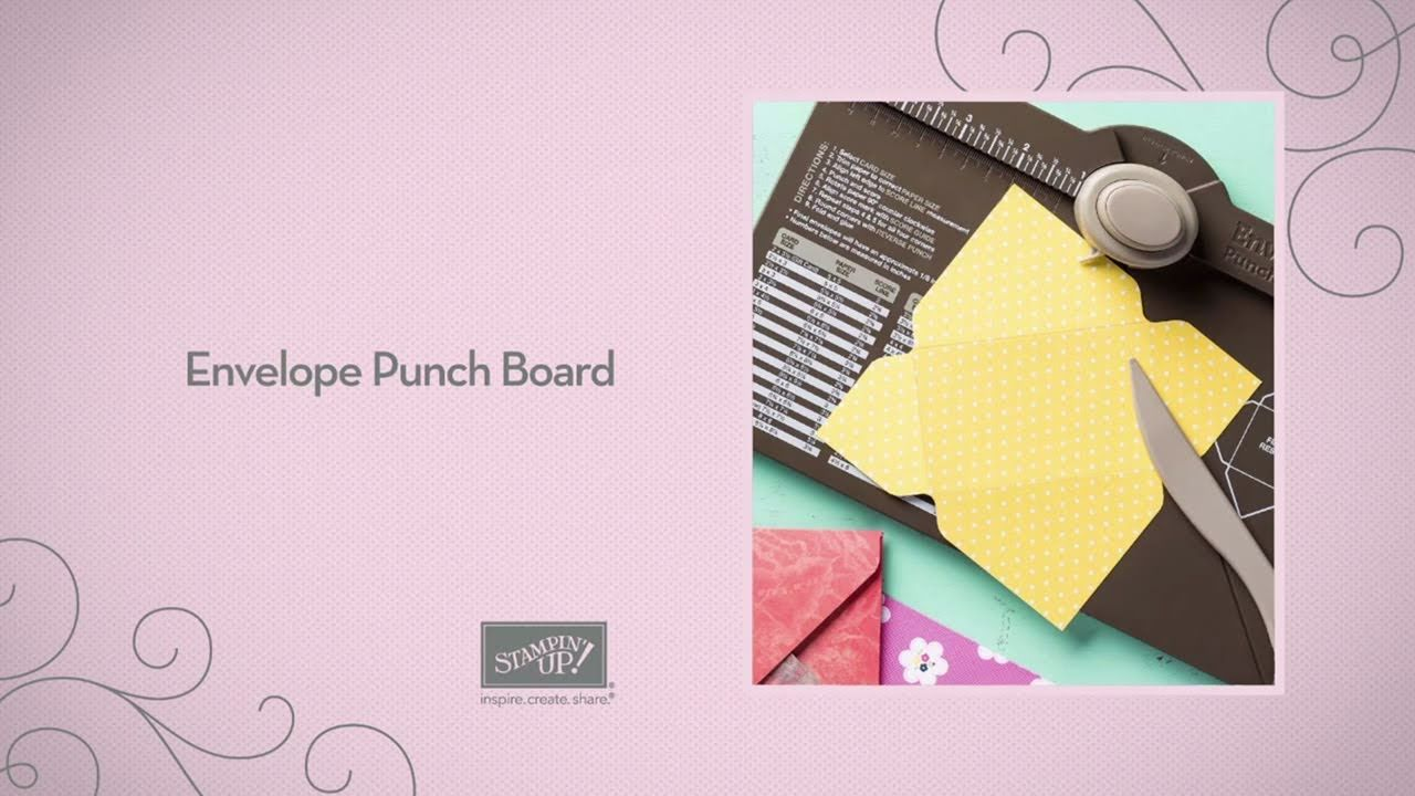 Stampin 39 Up 39 S Envelope Punch Board Is The Best Check It