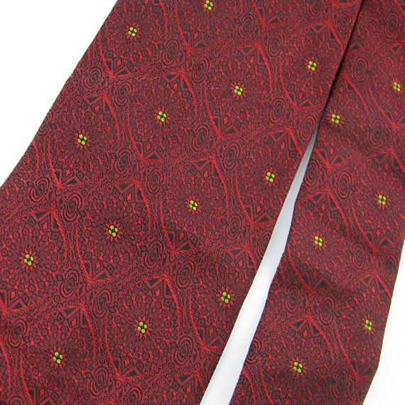 Vintage Necktie Wembley Texture Art Nouveau by VintageAndRareTies