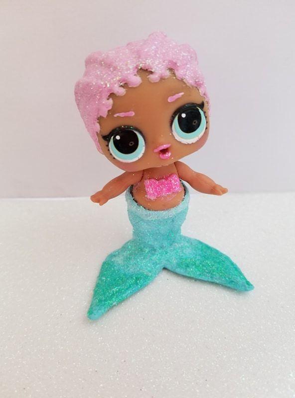 Merbaby Mermaid Tutorial Lol Surprise Doll Repaints