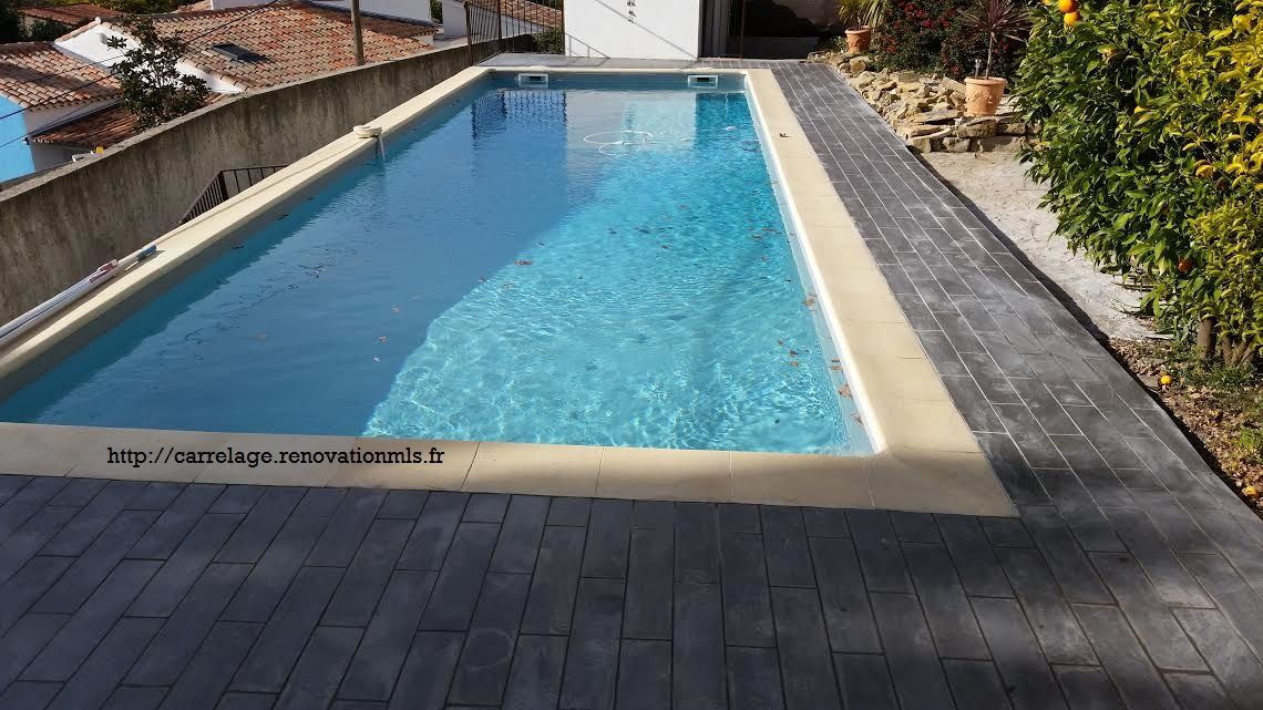 Carrelage de piscine la ciotat chantier pinterest - Cours de carrelage ...