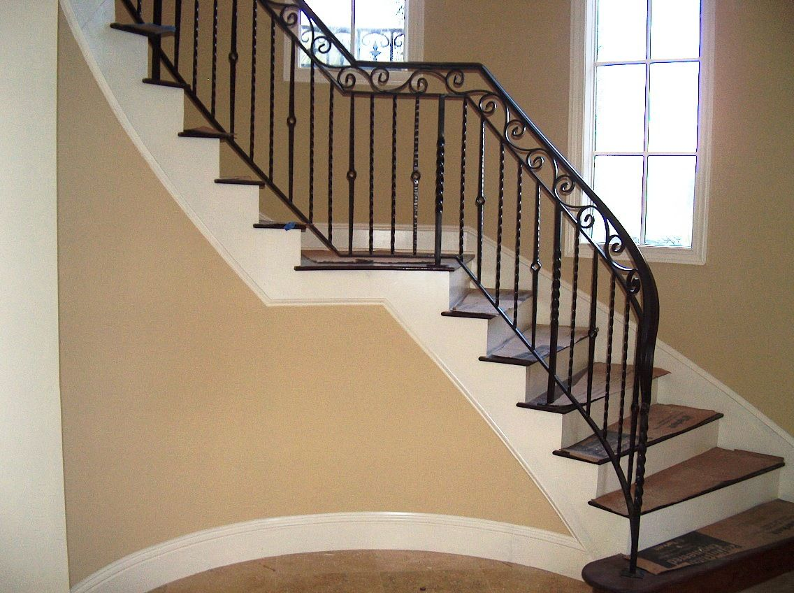 Design Metal Stair Railing iron railing designs to obtain an estimate click here see wrought stair gallery page two