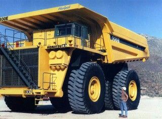 Giant quarry dump truck With enough enginuity could be the ultimate bugout vehicle. Though I recommend disabling bed hydraulics.