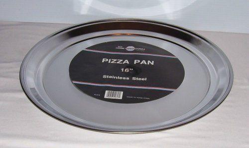 Stainless Steel Pizza Pan - 16 Inch Diameter by SCI Scandicrafts, http://www.amazon.com/dp/B001S9LQKU/ref=cm_sw_r_pi_dp_B7qlrb1B8W6ZE