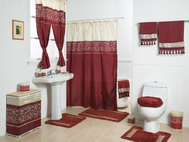 Shower Curtain Sets With Rugs With Images Shower Curtain Decor