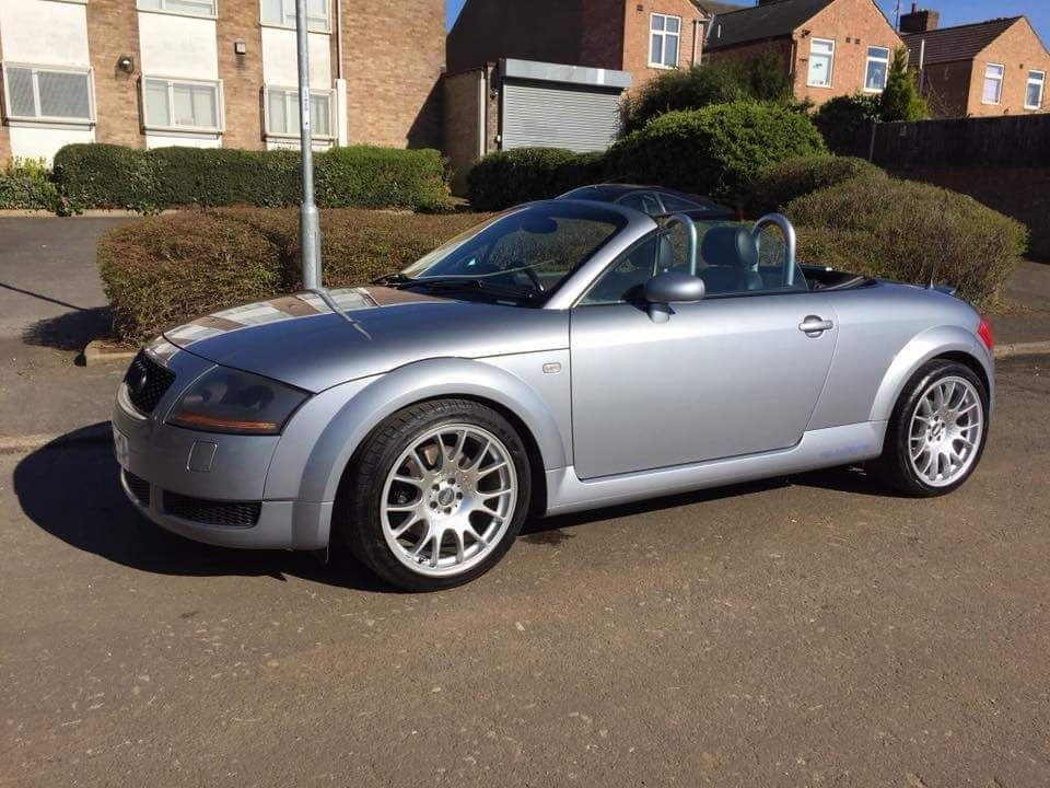 2002 Audi Tt Quattro 225 1 8t Bam Avus Silver Roadster Convertible Not 3 2 995 00 End Date Monday Mar 5 2018 11 14 35 Gmt Add To