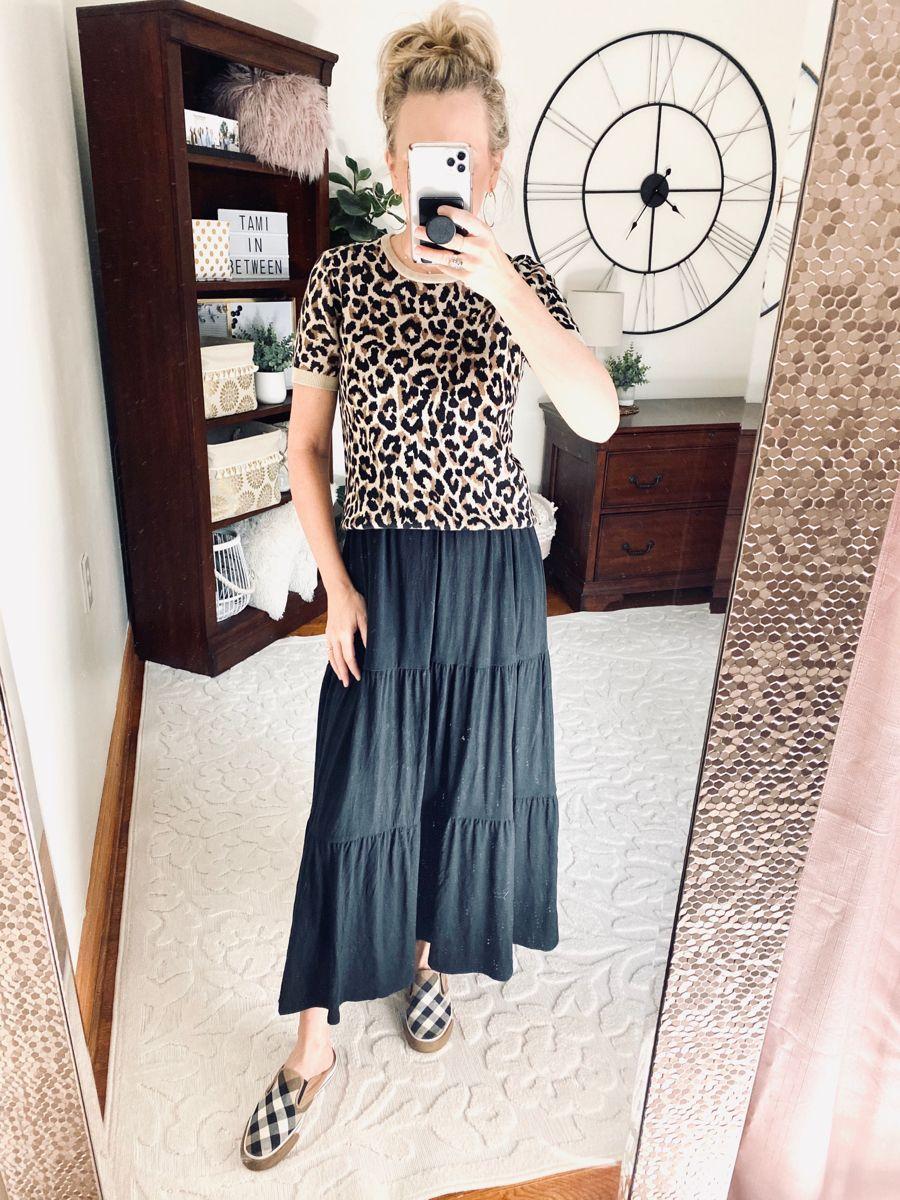 Fall Outfit Black Maxi Dress Fall Outfits Autumn Fashion [ 1200 x 900 Pixel ]