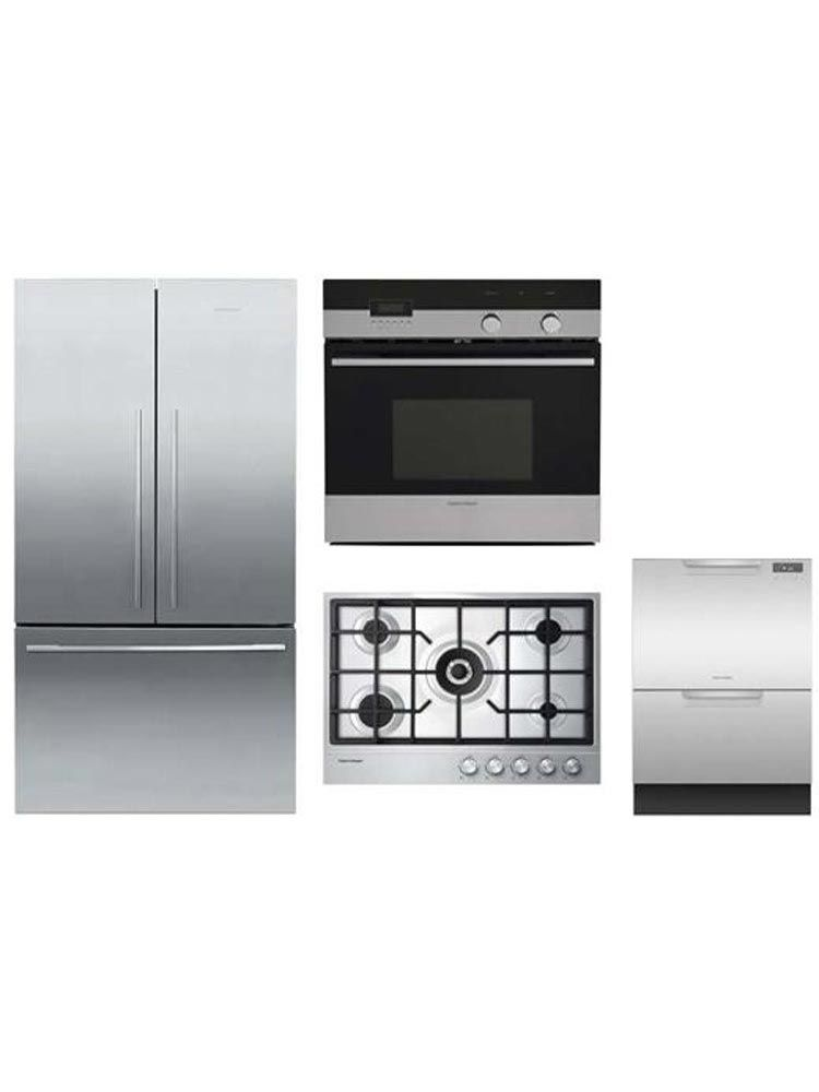 Fisher Paykel Electric 24 Single Wall Oven Ob24sdpx4 With Self Cleaning Single Wall Oven Wall Oven Self Cleaning Ovens