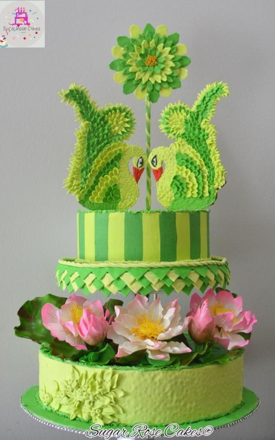 Beautiful Sri Lanka Collaboration by Inoka (Sugar Rose Cakes)