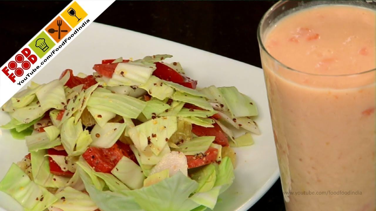 Crunchy Vegetable Salad | Food Food India - Fat To Fit | Healthy Recipes