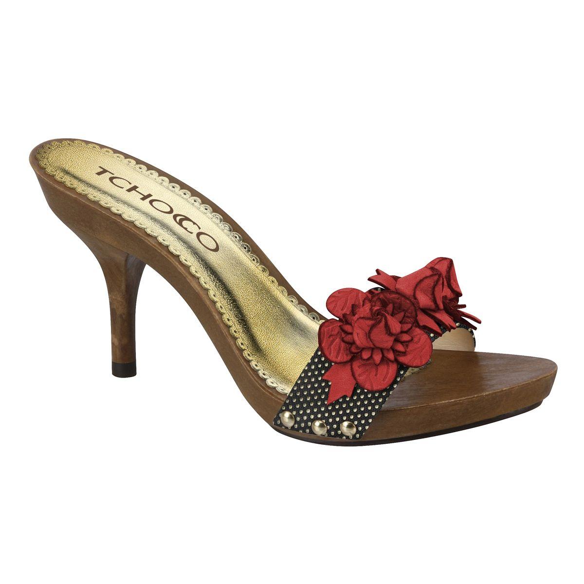 37f060f7de Tamancos - Ref 56908 - Coleção - Tchocco Calçados Femininos