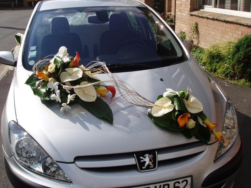 decoration voiture mariage nantes