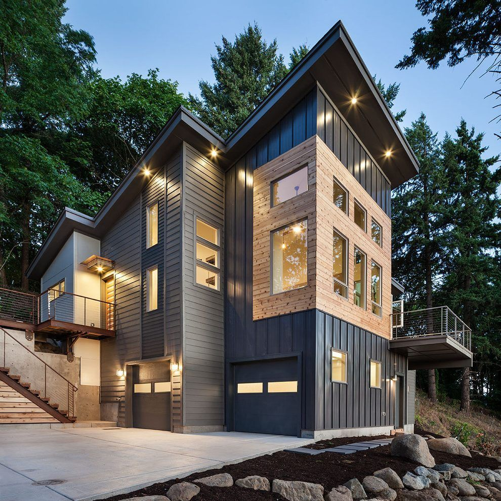 Metal Siding Options Costs And Pros Cons 2020 Modern Rustic