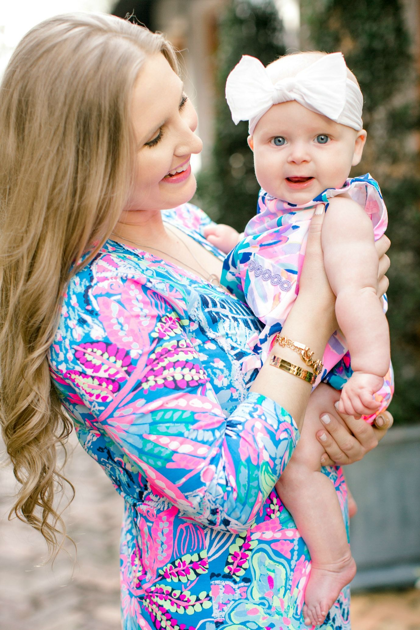 c803f1e3de39 Lilly Pulitzer mommy and me outfit for mama and her baby girl! If you re  looking for cute mommy and me baby outfits