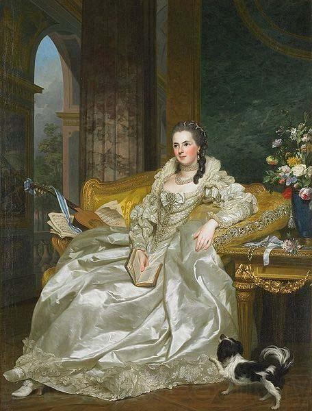 Alexander Roslin  The Comtesse d'Egmont Pignatelli in Spanish Costume
