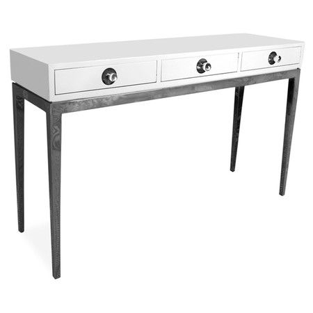 Found it at AllModern - Channing Console Table in White