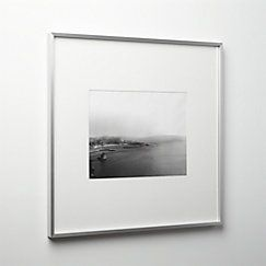 View Larger Image Of Gallery Brushed Silver 11x14 Picture Frame