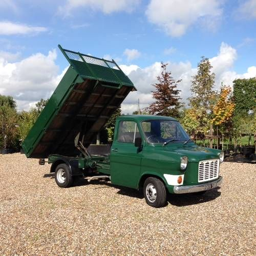 Classic Ford Transit Mk 1 Tipper For Sale 1971 Ford Transit Ford