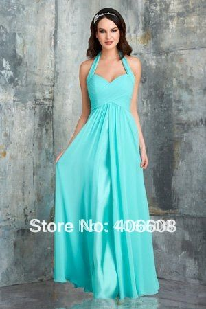 2014 New Arrival Halter Draped Chiffon Straight Pregnant Woman Formal Evening Dresses $119.00