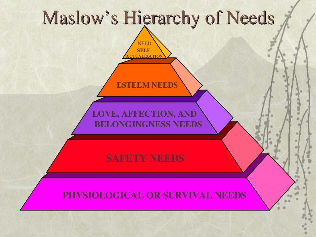 maslow hierarchy of needs abraham maslow  maslow hierarchy of needs