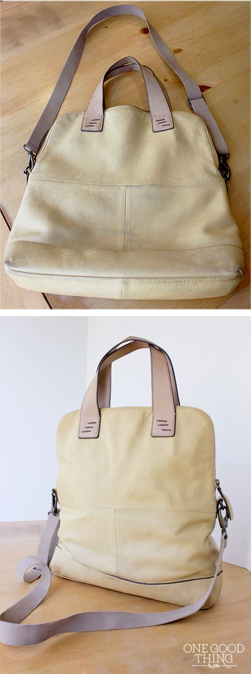 how to wash a leather purse yes i said wash jillee rh pinterest com