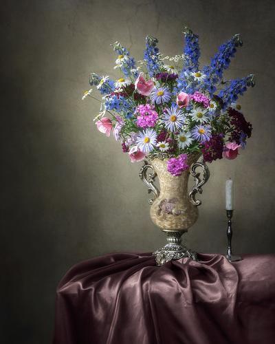 Букет летних садовых цветов. Фотограф Ирина Приходько