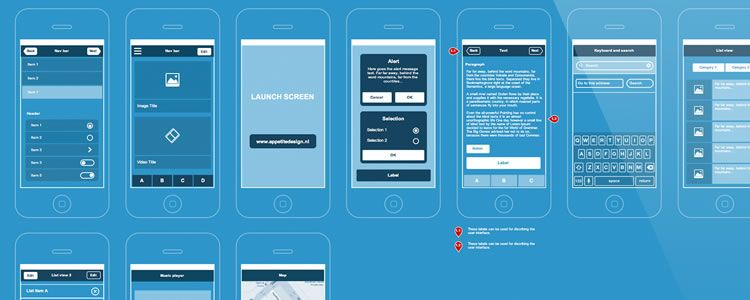 ux design templates axure rp the best freebies for web designers