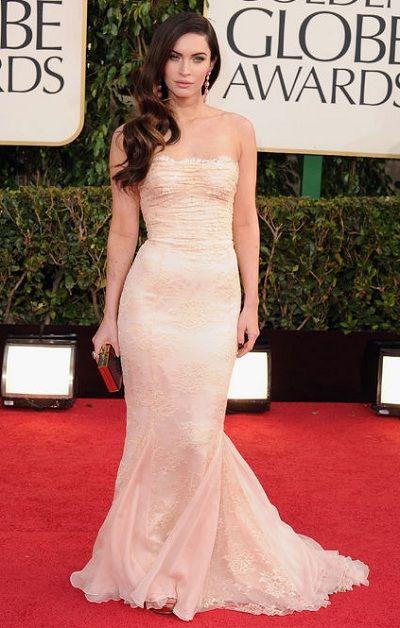 Celebrity fashion at Golden Globe Red carpet 2013
