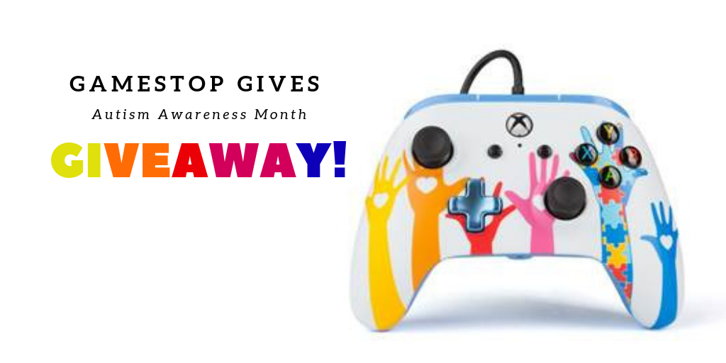 b3e11313b4910e Gaming for a Cause- GameStop Gives Supports Autism Awareness Giveaway themomkind   blogengage