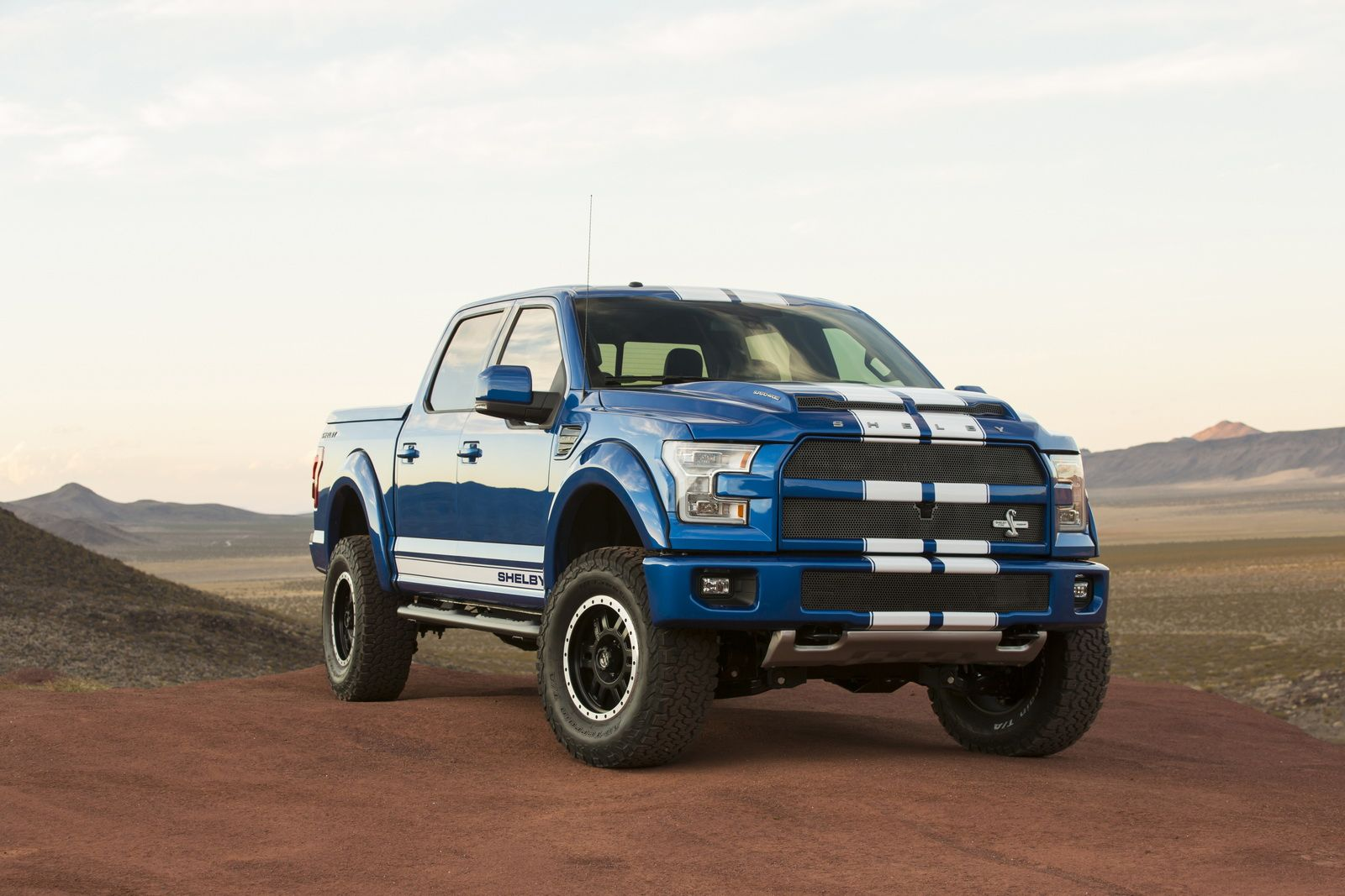 Looking For A 750hp Truck In The Uk Buy A Shelby F 150 Super Snake Carscoops Shelby Truck Ford Lightning Shelby
