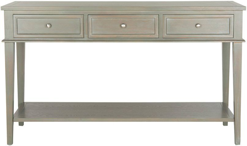 Eldorado Console Ash Gray With Images Console Table Living Room Gray Console Table Modern Console Tables