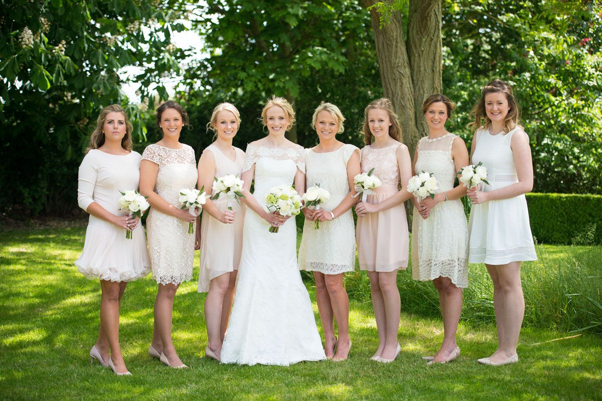 Fordham wedding suzy and george nude and unique bridesmaids fordham wedding suzy and george nude and unique bridesmaids dresses to compliment a stunning ombrellifo Image collections