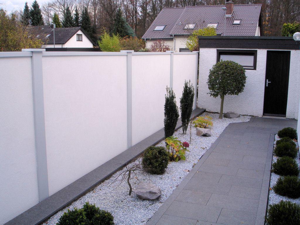 Bildergalerie Laermschutz Sichtschutz Windschutz Sichtschutzmauer Sichtschutzzaun Garten Holzwand Garten