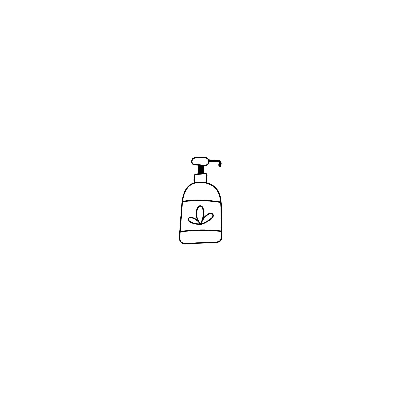 Illustration Cosmetic Soap Beauty Logos Premade Logo