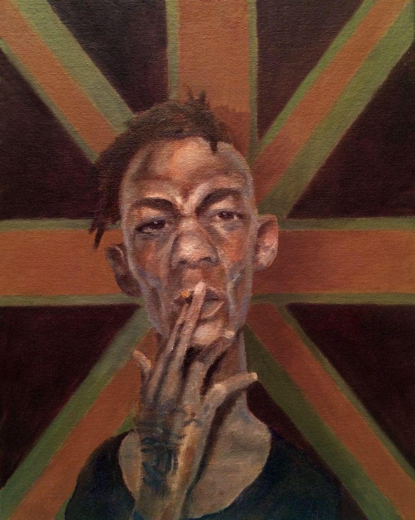 It's Tricky - Seth Bleiler oil on canvas
